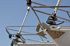 Detalhes do prow dos Sailboats Fotos de Stock