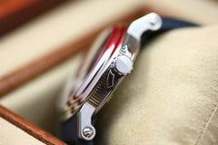 Detalhes do relógio de pulso imagens de stock royalty free