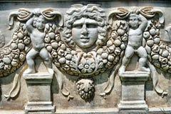 Detalhes do sarcófago Fotos de Stock Royalty Free