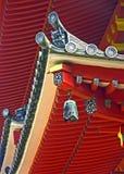 Detalhes do templo budista fotografia de stock royalty free