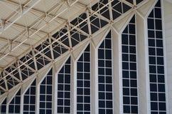 Detalhes do teste padrão da arquitetura de Atenas o Estádio Olímpico, Grécia Imagem de Stock Royalty Free