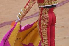 Detalhes do traje do toureiro Fotos de Stock Royalty Free