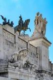 Detalhes do Vittoriano Fotos de Stock Royalty Free
