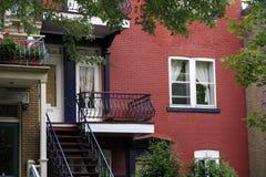 Detalhes dos apartamentos Imagem de Stock