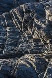 Detalhes e texturas da rocha vulcânica foto de stock