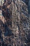 Detalhes e texturas da rocha vulcânica imagem de stock