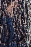 Detalhes e texturas da rocha vulcânica fotos de stock royalty free