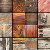 Detalhes em elementos de madeira arquitetónicos Fotografia de Stock