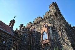 Detalhes exteriores da arquitetura do castelo de Reichenstein Foto de Stock Royalty Free