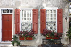 Detalhes exteriores do edifício Foto de Stock Royalty Free