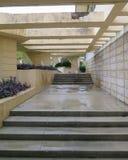 Detalhes Frank Lloyd Wright Lakeland College Florida Southern fotografia de stock royalty free
