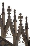 Detalhes góticos da catedral Fotografia de Stock Royalty Free