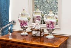 Detalhes interiores antigos Fotografia de Stock Royalty Free
