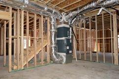 Detalhes interiores da construção home Fotografia de Stock