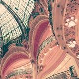 Detalhes interiores franceses Fotos de Stock