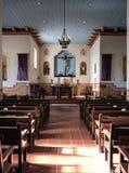 Detalhes interiores, San Carlos Cathedral, Monterey, Califórnia foto de stock