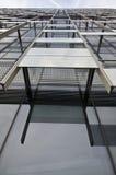 Detalhes modernos da arquitetura Foto de Stock Royalty Free