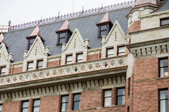 Detalhes no hotel velho Imagens de Stock Royalty Free