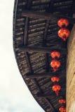 Detalhes tradicionais da casa do Hakka foto de stock royalty free
