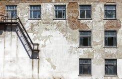 Detalhes urbanos da arquitetura do Grunge Imagem de Stock