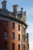 Detalhes velhos do edifício Fotografia de Stock Royalty Free