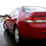 Detalhes vermelhos do carro Imagens de Stock Royalty Free