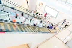 detalicznych centrum handlowe zakupów ludzie Zdjęcie Stock