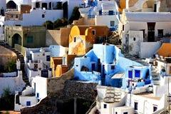 detalis oia αρχιτεκτονικής στοκ εικόνες