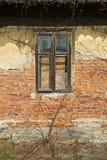 Detalj av Abandoned huset Arkivfoto