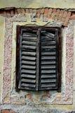 Detalj av Abandoned huset Arkivbild