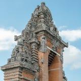 Detalj av arkitektur för hinduisk tempel Arkivbilder