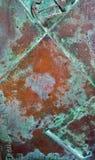 Detalj av bakgrund för Grunge för metallrosttextur Arkivbilder