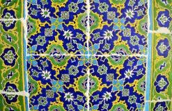 Detalj av ber?mda slottIznik tegelplattor Topkapi Instambul, Turkiet royaltyfri bild