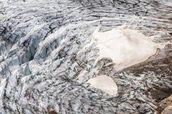 Detalj av berglandskapet Härlig vårsikt på Grossgloc royaltyfri fotografi