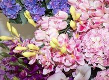 Detalj av blommor arkivbild