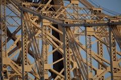 Detalj av bron. Royaltyfria Bilder