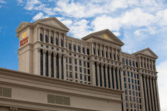 Detalj av Caesars Palace i Las Vegas Royaltyfri Bild