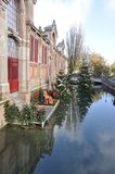 Detalj av Colmar, Frankrike Royaltyfri Bild