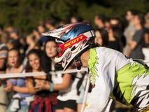 Detalj av cyklister - ledare Royaltyfri Fotografi