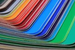 detalj av den abstrakta färgpalletten Royaltyfri Foto