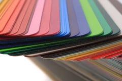 detalj av den abstrakta färgpalletten Arkivfoton