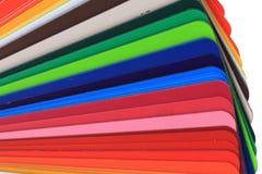 detalj av den abstrakta färgpalletten Fotografering för Bildbyråer