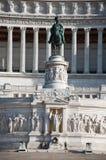 Detalj av den Altare dellaen Patria. Rome. Royaltyfria Foton