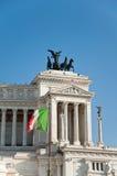 Detalj av den Altare dellaen Patria. Rome. Royaltyfri Foto