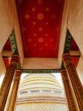 Detalj av den bästa delen på Wat Ratchabopit Fotografering för Bildbyråer