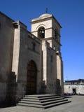 Detalj av den forntida katolska kyrkan Royaltyfria Foton
