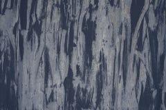 Detalj av den gamla målade metallyttersidan med den klara strukturen, closeup Royaltyfri Fotografi