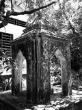 Detalj av den gamla pagoden, Songkhla, Thailand Arkivfoton