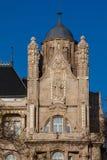 Detalj av den Gresham slotten arkivfoto