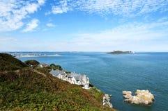 Detalj av den Howth halvön, Irland royaltyfri foto